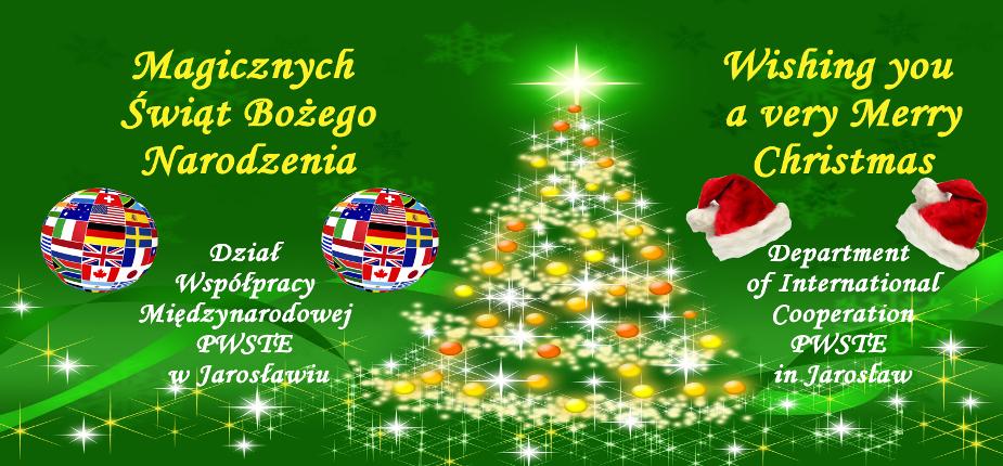 Wesołych Świąt Bożego Narodzenia! Merry Christmas!