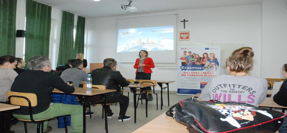 Spotkanie promujące praktyki zagraniczne w Grecji i na Cyprze w ramach programu Erasmus+