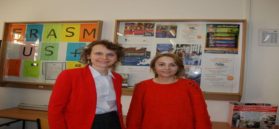 Wizyta naukowca z Istanbul Esenyurt University w PWSTE